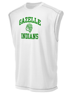 Gazelle Elementary School Indians Champion Men's 4.1 oz Double Dry Odor Resistance Muscle T-Shirt