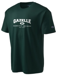 Gazelle Elementary School Indians Champion Men's Tagless T-Shirt