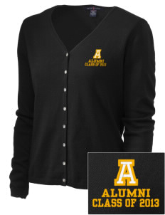 Albany Middle School Cobras Embroidered Women's Stretch Cardigan Sweater