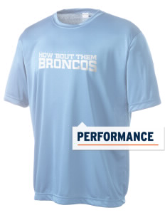 Barnard-White Middle School Broncos Men's Competitor Performance T-Shirt