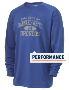 Barnard-White Middle School Broncos Men's Ultimate Performance Long Sleeve T-Shirt
