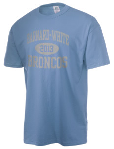 Barnard-White Middle School Broncos  Russell Men's NuBlend T-Shirt