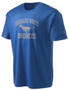 Barnard-White Middle School Broncos Champion Men's Tagless T-Shirt