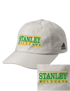Stanley Middle School Wildcats Embroidered adidas Relaxed Cresting Cap