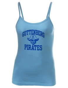 Guttenberg Elementary School Pirates Women's Louise Longer Length Tank