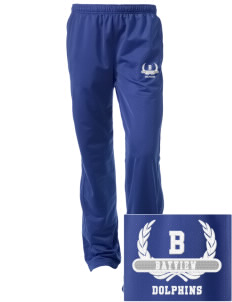 Bayview Elementary School Dolphins Embroidered Women's Tricot Track Pants