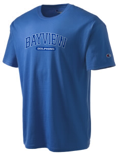 Bayview Elementary School Dolphins Champion Men's Tagless T-Shirt