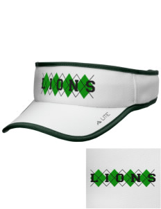 Lincoln Elementary School Lions Embroidered Lite Series Active Visor