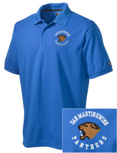 San MartinGwinn School Panthers Embroidered OGIO Men's Caliber Polo