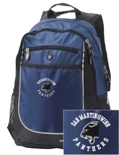 San MartinGwinn School Panthers Embroidered OGIO Carbon Backpack