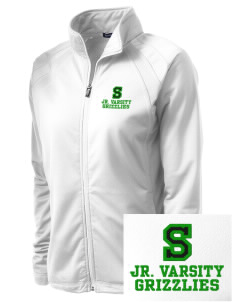 Sheldon Elementary School Grizzlies Embroidered Women's Tricot Track Jacket