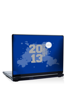 "Dover School Stingers 17"" Laptop Skin"