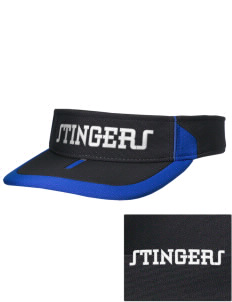 Dover School Stingers Embroidered M2 Sideline Adjustable Visor