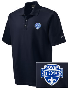 Dover School Stingers Embroidered Nike Men's Dri-FIT Pique II Golf Polo