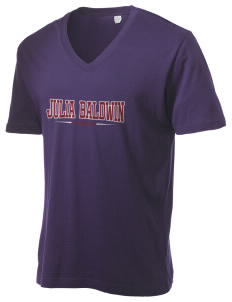 Julia Baldwin Elementary School Panthers Alternative Men's 3.7 oz Basic V-Neck T-Shirt