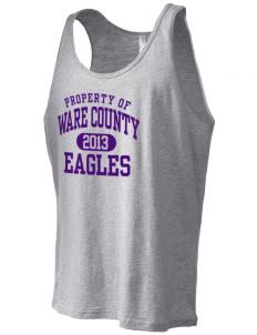 Ware County Magnet School Eagles Men's Jersey Tank