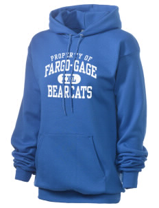Fargo School Bearcats Unisex 7.8 oz Lightweight Hooded Sweatshirt