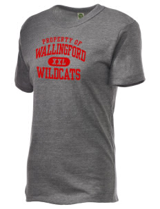 Wallingford Elementary School Wildcats Alternative Unisex Eco Heather T-Shirt