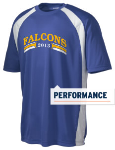 Garden Valley Elementary School Falcons Men's Dry Zone Colorblock T-Shirt