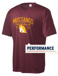 Armstrong-Ringsted Middle School Mustangs Men's Competitor Performance T-Shirt