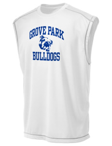 Grove Park Elementary School Bulldogs Champion Men's 4.1 oz Double Dry Odor Resistance Muscle T-Shirt