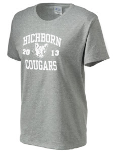 Hichborn Middle School Cougars Women's Essential T-Shirt