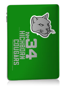 Hichborn Middle School Cougars Apple iPad Skin