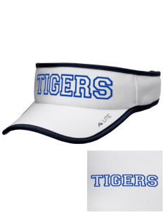 Hopewell Elementary School Tigers Embroidered Lite Series Active Visor