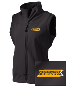 Hoover Elementary School Hornets  Embroidered Women's Glacier Soft Shell Vest