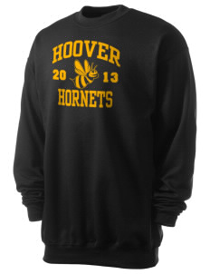 Hoover Elementary School Hornets Men's 7.8 oz Lightweight Crewneck Sweatshirt