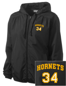Hoover Elementary School Hornets Embroidered Women's Hooded Essential Jacket