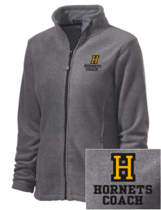 Hoover Elementary School Hornets Embroidered Women's Wintercept Fleece Full-Zip Jacket