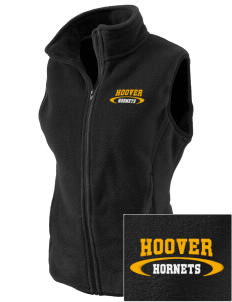 Hoover Elementary School Hornets Embroidered Women's Fleece Vest