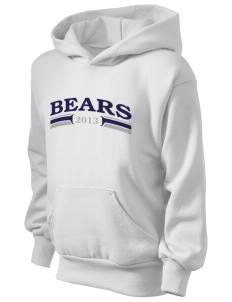 Bandini Elementary School Bears Kid's Hooded Sweatshirt