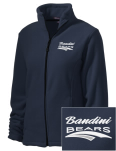 Bandini Elementary School Bears Embroidered Women's Wintercept Fleece Full-Zip Jacket