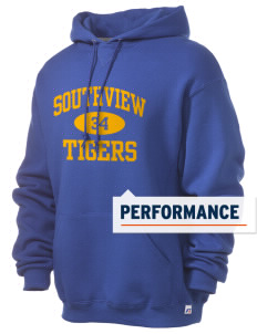 Southview Elementary School Tigers Russell Men's Dri-Power Hooded Sweatshirt