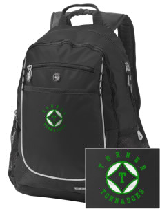 Turner High School Tornadoes Embroidered OGIO Carbon Backpack