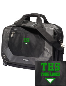 Turner High School Tornadoes Embroidered OGIO Corporate City Corp Messenger Bag