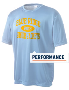 Blue Ridge Middle School Junior Jackets Men's Competitor Performance T-Shirt