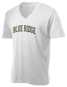 Blue Ridge Middle School Junior Jackets Alternative Men's 3.7 oz Basic V-Neck T-Shirt