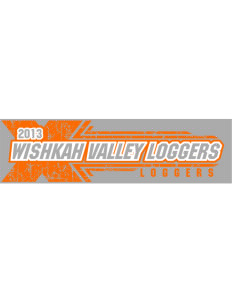 "Wishkah Valley School Loggers Bumper Sticker 11"" x 3"""