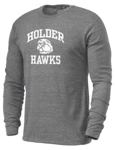 Holder Elementary School Hawks Alternative Men's 4.4 oz. Long-Sleeve T-Shirt