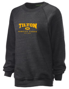 Tilton Elementary School Tigers Unisex Alternative Eco-Fleece Raglan Sweatshirt