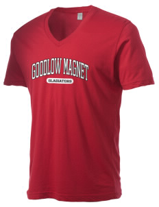 Goodlow Elementary Magnet School Gladiators Alternative Men's 3.7 oz Basic V-Neck T-Shirt
