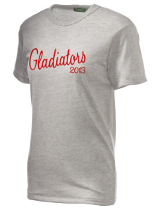 Goodlow Elementary Magnet School Gladiators Embroidered Alternative Unisex Eco Heather T-Shirt