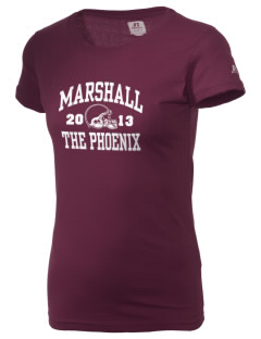 Marshall High School The Phoenix  Russell Women's Campus T-Shirt