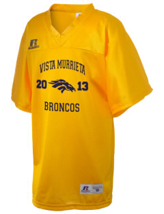 Vista Murrieta High School Broncos Russell Kid's Replica Football Jersey