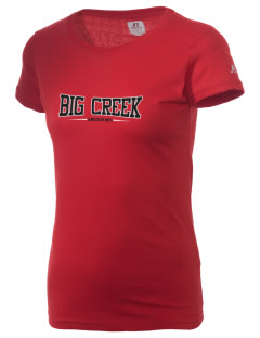Big Creek Indians  Russell Women's Campus T-Shirt