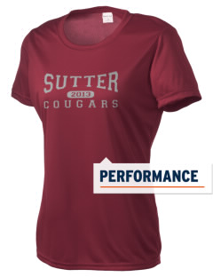 Sutter Middle School Cougars Women's Competitor Performance T-Shirt
