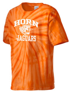John Horn High School Jaguars Kid's Tie-Dye T-Shirt